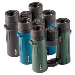 Бінокль Sigeta Imperial 10x34 (Black/Blue/Green): збільшити фото