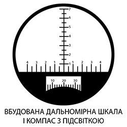 Додаткове зображення Бінокль тактичний SIGETA Admiral 7x50 Military №6