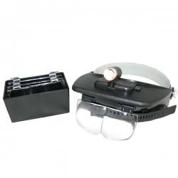 Лупа SIGETA Light Head Magnifying Glass: збільшити фото