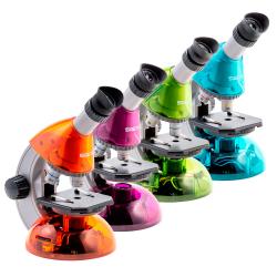 Мікроскоп SIGETA Mixi 40x-640x з набором слайдів і аксесуарів: збільшити фото