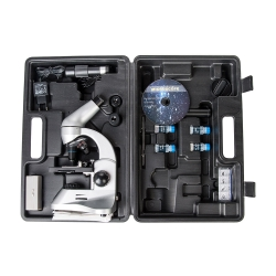 Додаткове зображення Мікроскоп SIGETA PRIZE NOVUM 20x-1280x з камерою 0.3Mp (в кейсі) №6