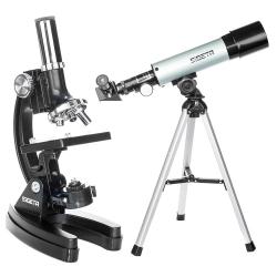 Додаткове зображення Мікроскоп + телескоп SIGETA Pandora в кейсі №1
