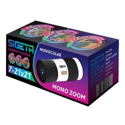 Додаткове зображення Монокуляр SIGETA Mono Zoom 7-21x21 №5
