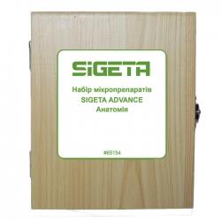 Набір мікропрепаратів SIGETA ADVANCE Анатомія (20 шт.): збільшити фото