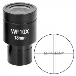 Окуляр SIGETA WF 10x/18 мм (мікрометричний): збільшити фото