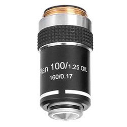 Об'єктив SIGETA Plan Achromatic 100x для мікроскопа: збільшити фото