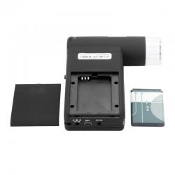 Додаткове зображення Цифровий мікроскоп SIGETA HandView 20-500x 5.0Mpx 3'' TFT №2