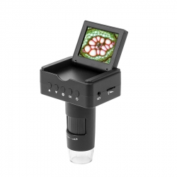 Додаткове зображення Цифровий мікроскоп SIGETA Superior 10-220x 2.4'' LCD 1080P HDMI/ USB/ TV №3