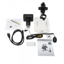 Додаткове зображення Цифровий мікроскоп SIGETA Superior 10-220x 2.4'' LCD 1080P HDMI/ USB/ TV №5